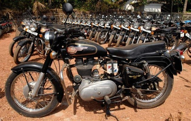 Kasargod police seize bikes with fake number plates