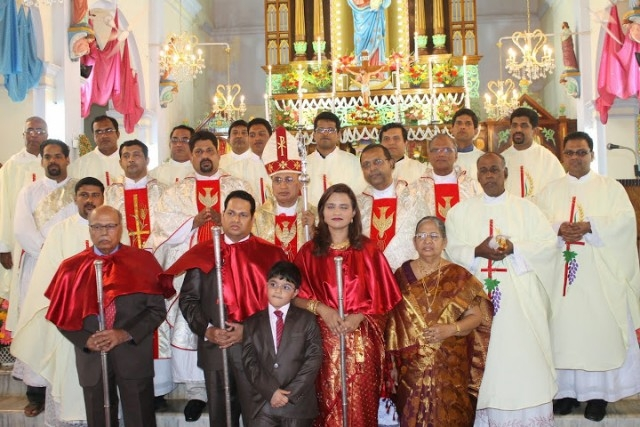 Milagres Cathedral celebrates Annual Parochial Feast with devotion & fervour