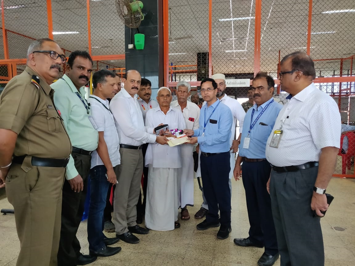 Hajj operations from MIA; First boarding pass handed over today
