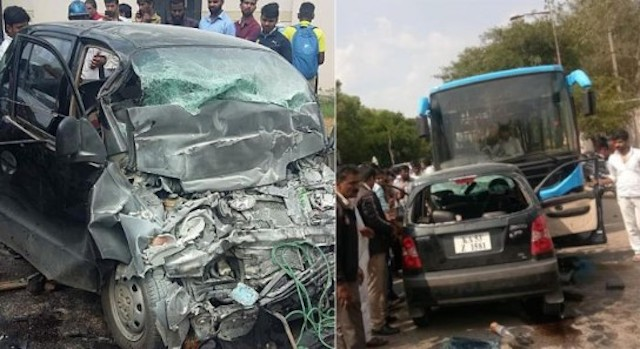 Bengaluru: Four persons of family returning from funeral die in accident