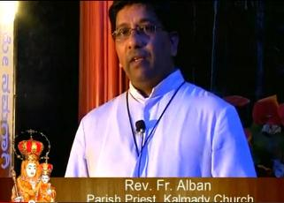 Watch Video:Fr.Alban Kalmady PP Message - Udupi Diocese
