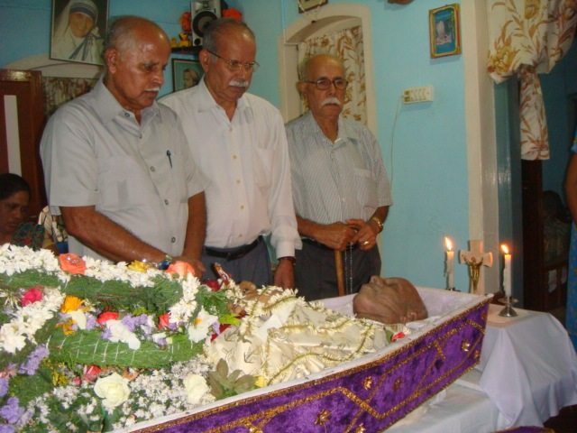 FR. J.J. SALDANHA LAID TO REST- PHOTO ALBUM