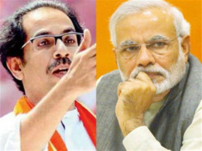 Shiv Sena attacks BJP again, with RSS stick