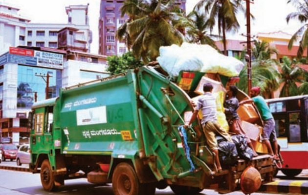 Extra 15 tons of garbage collected post Dasara celebrations!