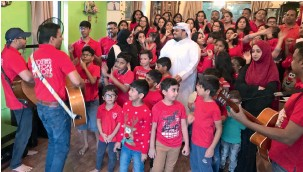 UAE: Carols to help four-year-old with rare disease