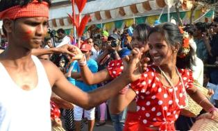 Streets of Panaji come alive with dance, music and colour at the Goa Carnival 2013