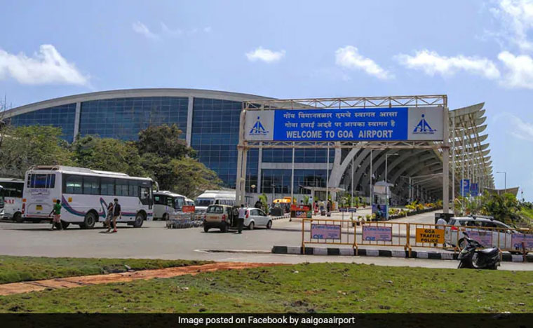 Rail stn-like scene at Goa airport irks authorities, netizens