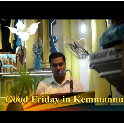 Good Friday in Kemmannu