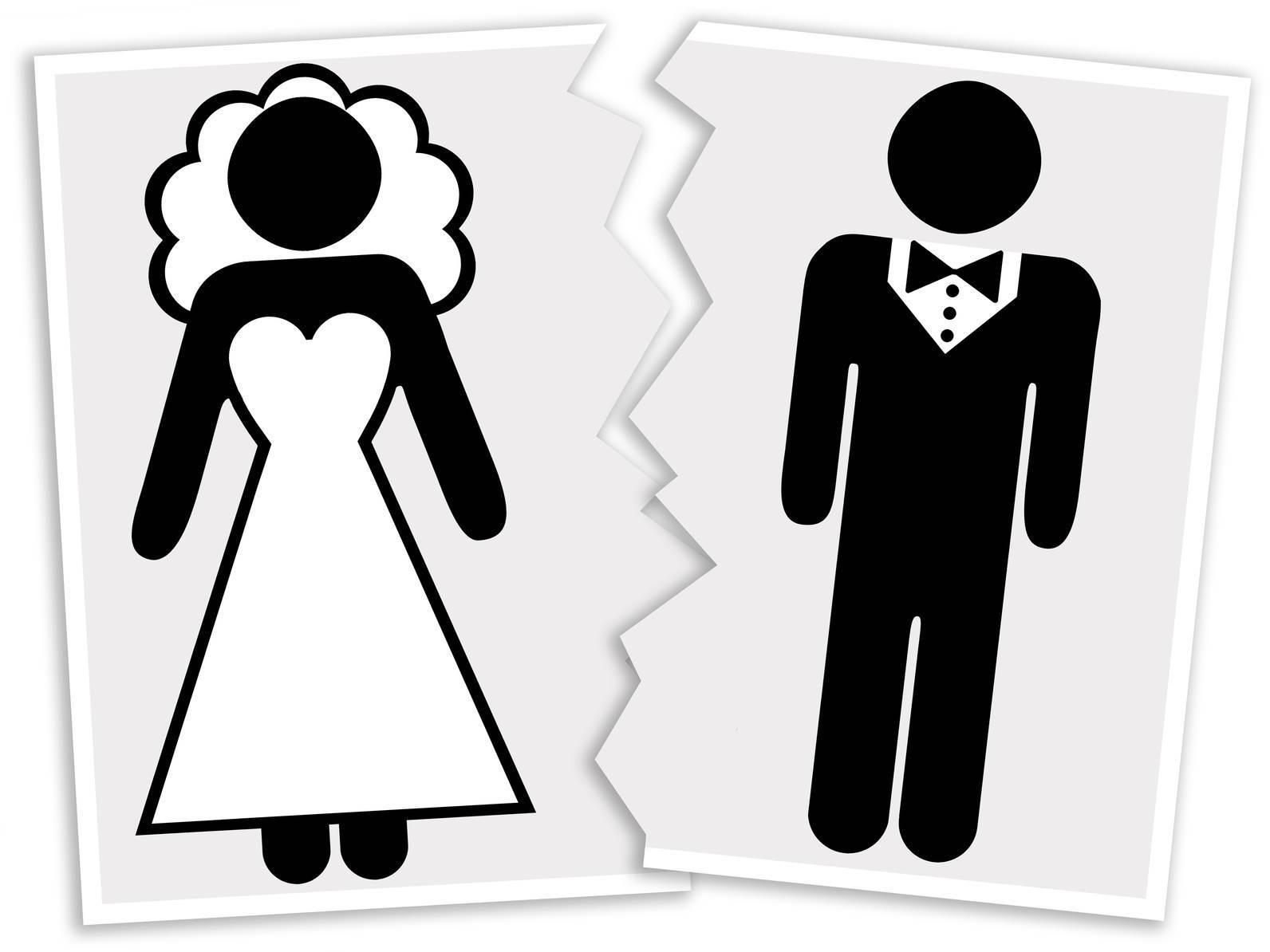 Just married and just divorced! Couple split within minutes after food fight