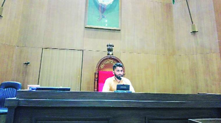 Gujarat Assembly: Photos of man sitting on Speaker's chair go viral