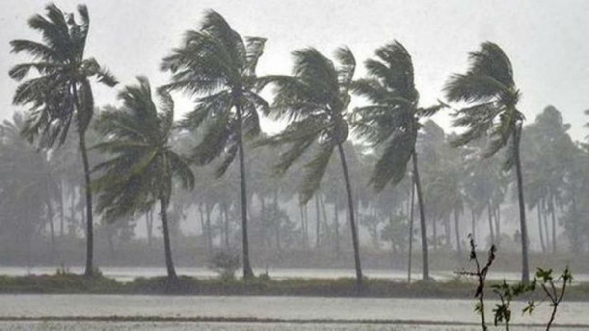 Red Alert in coastal districts, heavy rainfall and thundershowers from 11 to 12th September