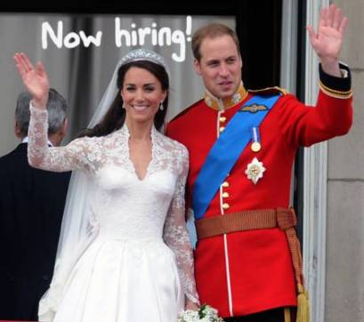 Wanted: A super servant for William-Kate to run household