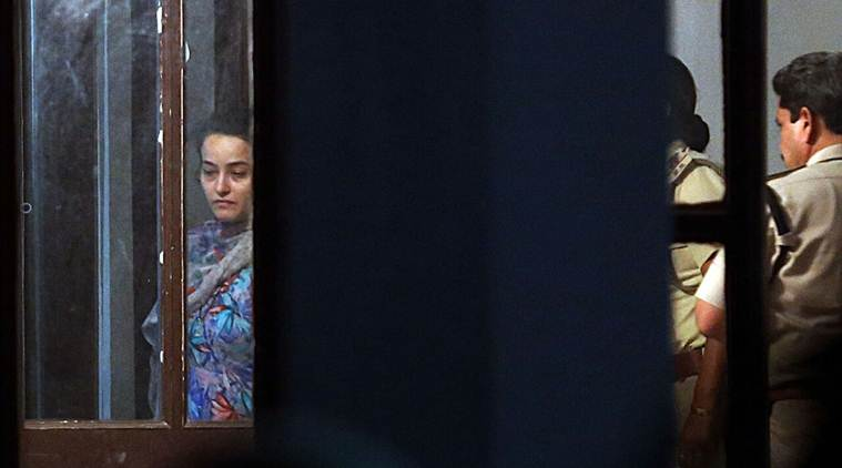 Honeypreet Insan arrested by Haryana Police from Punjab, being questioned