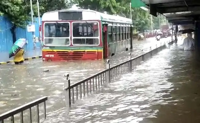 Heavy Rain, Flooding In Mumbai, Local Trains Stopped, Offices Shut