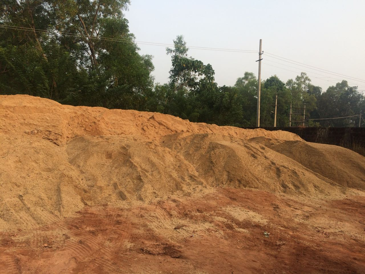 Illegal sand store at Uppoor seized, case registered against accused Ansar Ahmed, President of KRV, Udupi district