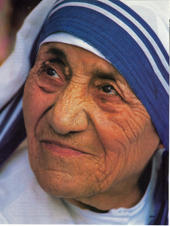 Mother Teresa �used� globalization