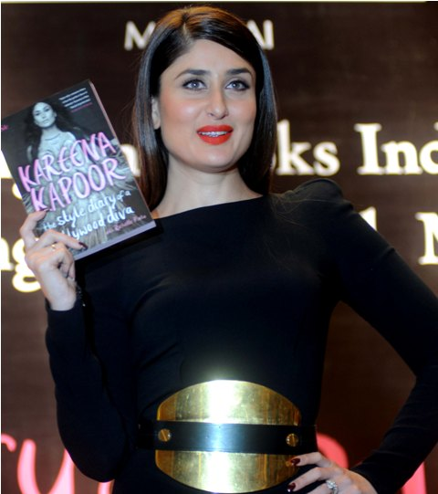 Kareena launched 'The Style Diary of a Bollywood Diva'
