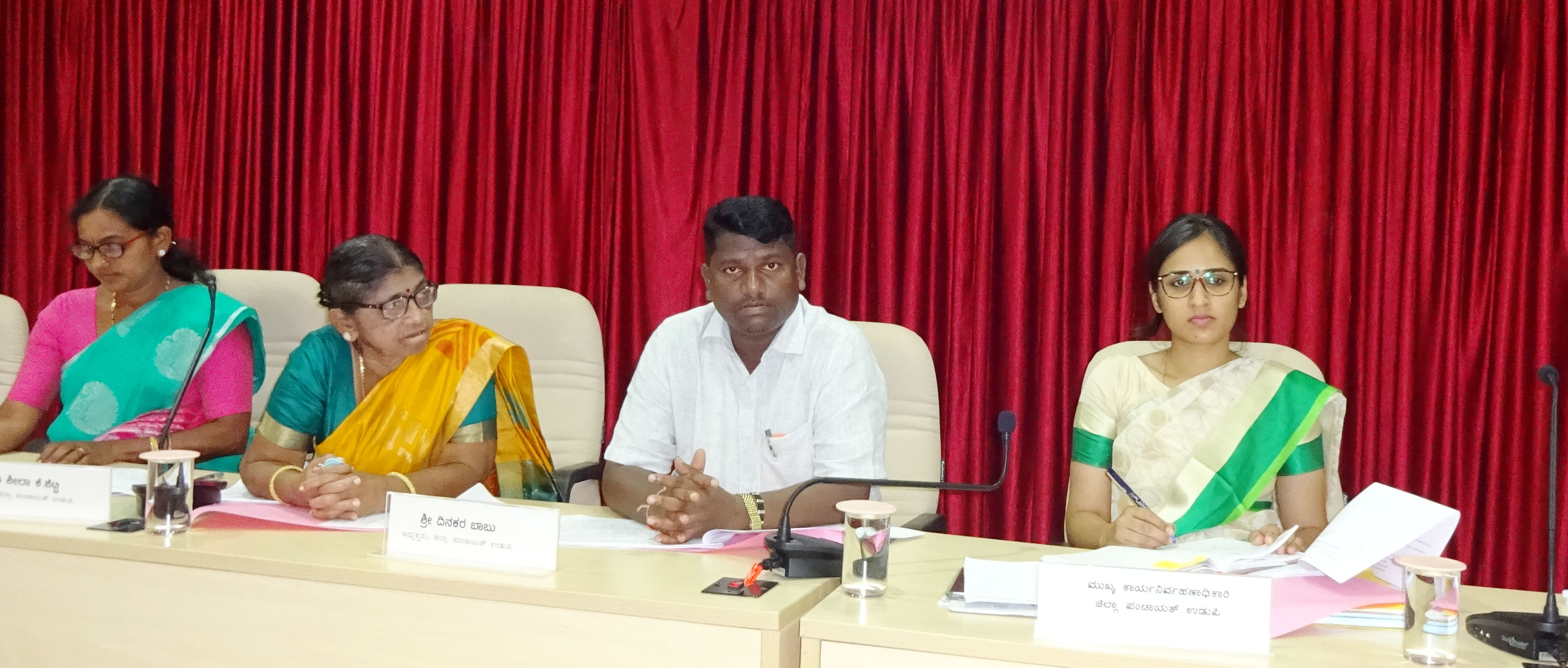 Training in Plastic Waste for Road Construction – ZP President Dinakar Babu