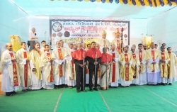 Grand finale of the Platinum Jubilee Celebration of the St. Theresa Church