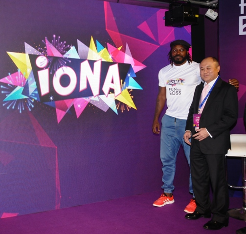 Boss of Fun, Chris Gayle launches IONA