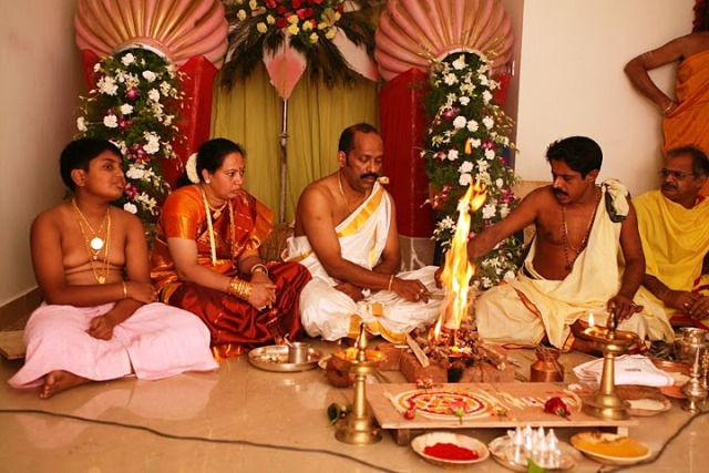 Upanayana of Karthik and House Warming in Bangalore