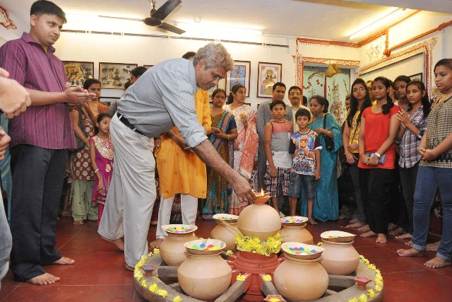 Udupi: Art foundation students exhibit talent at tribal expo