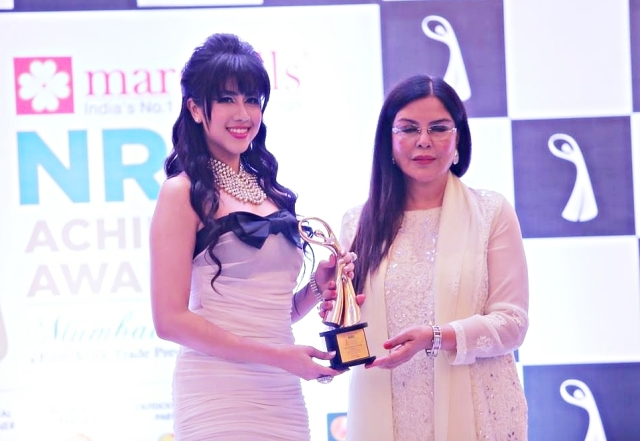 Alfeeya Wins NRI Achievers Award for Best Debutant Actress for Jihad movie!
