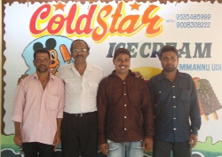 Cold Star Ice Cream Started operation in Kemmannu