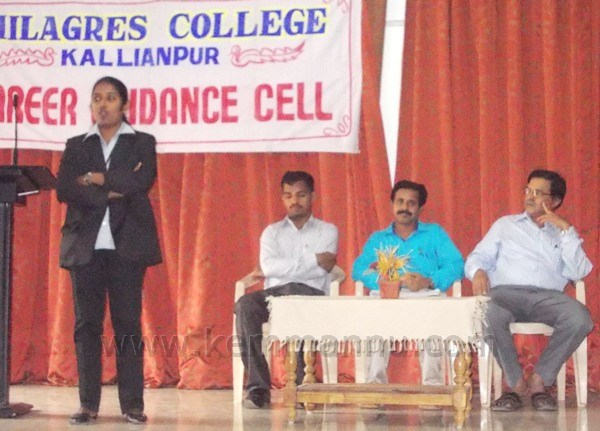 Kallianpur: Workshop on how to face interview held at Milagres