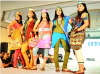 Fashion Exhibition By IITC Students on May 7, 2011.