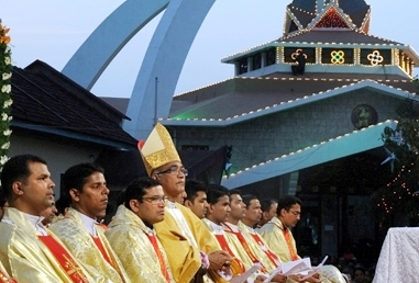 Annual Feast of Infant Jesus celebrated at Infant Jesus Shrine, Mangalroe