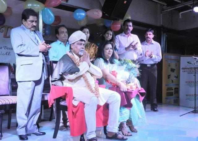 KaDaM celebrates 1st anniversary with pomp & gaiety -  'Sadaka Prashasti' conferred  on  B G Mohandas