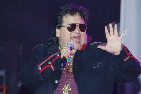 Kuwait : Rocking high voltage concert by Bappi Lahiri