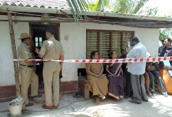 Couples Murder in Kota: suspected to be the handiwork of thieves.
