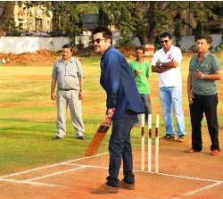 Bollywood Actor Anil Kapoor is in Media Cup-12 Closing Ceremon