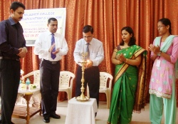 A one day workshop on 'Kinesics in Social Work'  at Milagres College, Kallianpur