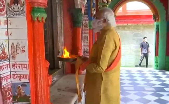 PM Back In Ayodhya After 29 Years For Ram Temple Ceremony