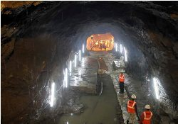 Hindustan Construction Company Ltd (HCC) achieved a major breakthrough by day lighting the Maroshi-Vakola tunnel stretch