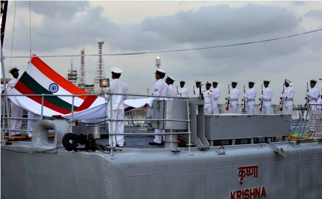 INS Krishna, one of Indian Navy's 1st Training Squadron Ships, decommissioned