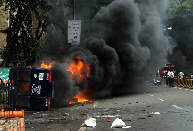 Two killed as protest over Assam riots turns violent in Mumbai Pics - Rons Bantwal