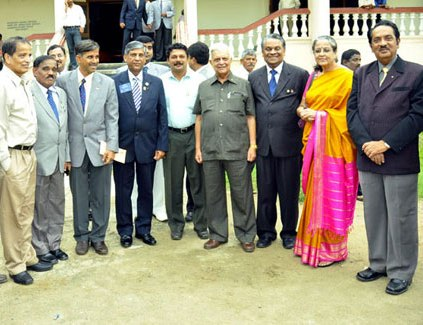Rotary International District 3180 District Governer 2011-12 Installation Programme held at Shimoga...