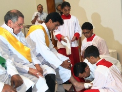 Maundy Thursday was solemnly observed at St. Mary's Dubai