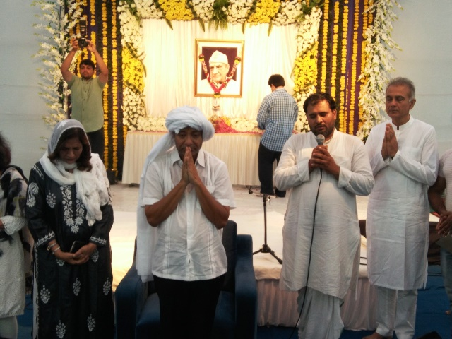 'Chautha' Ceremony of veteran actor late Jawahar Kaul performed at Yari Road, Mumbai