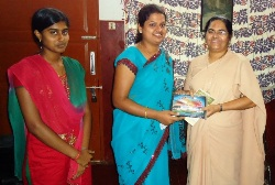 Orientation Visit to St Joseph Prashanth Nivas and CARDTS by I MSW Sudents, Milagres College