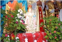 Infant Jesus Celebrated at Carmel Ashram, Koteshwar - Kundapur