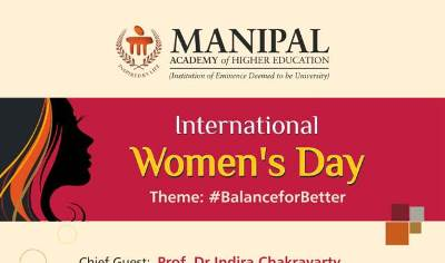 MAHE to celebrate Int'l women's day