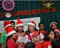 MCC's Children's Christmas party: Santa comes to Doha
