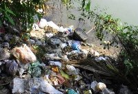 Pollution of environment at our own backyard, the target River Swarna.