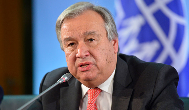 UN chief applauds Pakistan, censures India during Islamabad trip