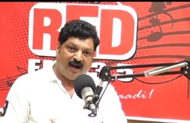Sathish Chilli villi RED FM 93.5 Mangalore -*** V4 NEWS 24*7
